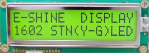 LCD Display Character COB EC1602S0 pictures & photos