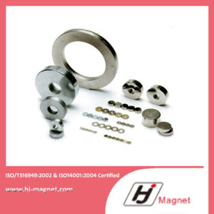 China Certificated Cheap N35-N52 Disc Permanent Neodymium Magnet pictures & photos
