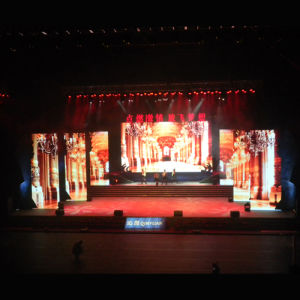 Light Weight P6.25 Rental LED Screen for Fashion Show