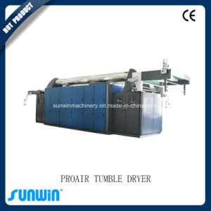 After Brushing Machine Textile Continuous Tumbler Dryer pictures & photos