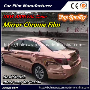 New Arrival Color~~ Top Quality Glossy Chrome Car Vinyl Wrap Vinyl Film pictures & photos