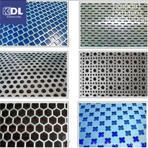 Carbon Perforated Metal Mesh pictures & photos