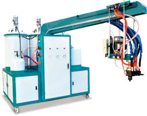 Double Color&Double Density PU Pouring Machine (ZD-C2-250A) pictures & photos