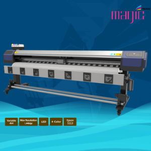Paper Transfer Sublimation Digital Flex Printing Machinery with 2 Printheads of Epson5113 pictures & photos