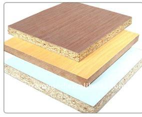 Cherry Melamine Chipboard 3-Ply pictures & photos
