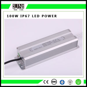 100W Constant Voltage IP65 IP67 12V/24V Waterproof LED Power Supply pictures & photos