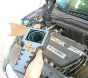 Industrial Video Borescope with 5.8mm Camera Lens, 2-Way, 3.5′′ LCD, 1m/2m/3m Testing Cable