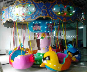 Theme Park Attractions Carousel Flying Chair Amusement Equipment