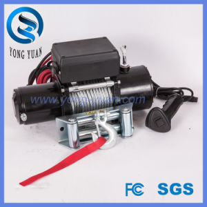 Electric Synthetic Rope Winch 8500lbs 12VDC FCC (DH6000E-S)