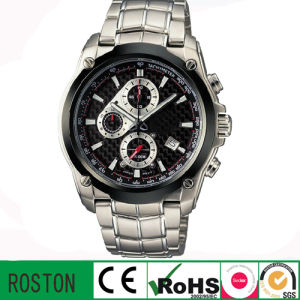 Japan Quartz Movement Water Resistant Stainless Steel Watch pictures & photos