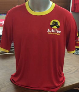 Factory Red Kenya Presidential Election Printed Short Sleeves Advertising T Shirt pictures & photos