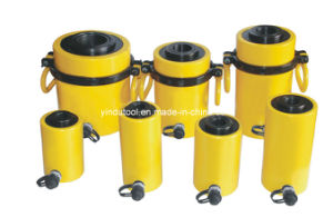 30 Ton Single Acting Hollow Plunger Hydraulic Cylinder (RCH-3050) pictures & photos