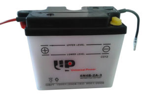 Motorcycle Battery Dry Charged 6n4b-2A-3 6V 4ah