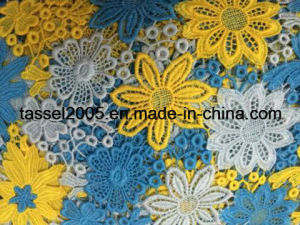 Multicolor Guipure Lace Fabric Factory pictures & photos