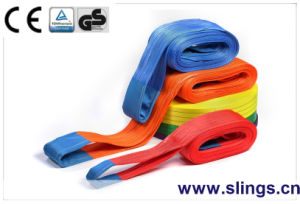 Flat Webbing Sling with Double Eye pictures & photos