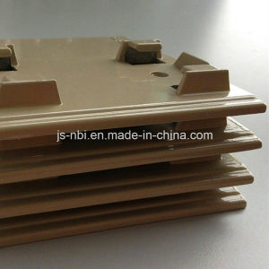 Low Cost Faceplate Made From Zinc Alloy Casting with Powder Coating Surface pictures & photos