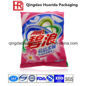 Back Sealed Laundry Detergent/Washing Powder Packaging Bag pictures & photos