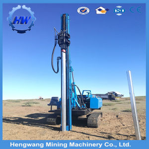 Highway Steel Guardrail Post Hydraulic Hammer Pile Driver pictures & photos