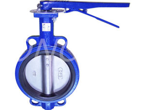 Soft Sealing Stainless Steel Butterfly Valve with Flange pictures & photos