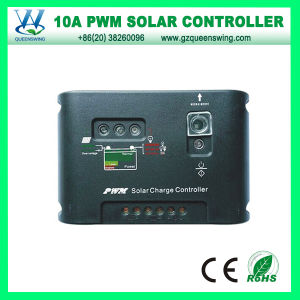 12/24V 10A PWM Solar Charge Controller with LED Light (QWP-1410SLC) pictures & photos