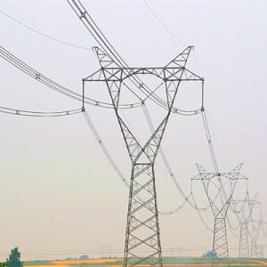 500 Kv Linear Cup-Shaped Power Transmission Steel Tower pictures & photos
