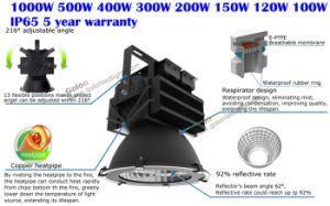 100-277V 230V 347V 480V 5 Years Warranty 4000k 5000k 5700k 6500k Outdoor 500 Watt LED Lights pictures & photos
