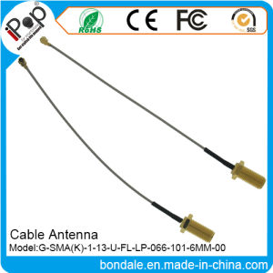 SMA K 113 U FL Lp 066 101.6mm Cable Antenna for Cable Radio Antenna pictures & photos