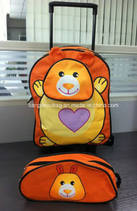 Lovely Kids Trolley Backpack for Leisure and School