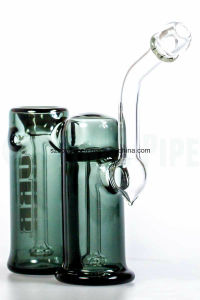 Full Double Chamber Sherlock Glass Bubbler for Smoking pictures & photos