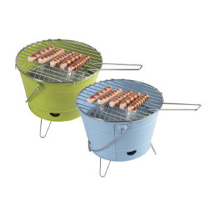 Bucket Shape Charcoal BBQ Grill, Bucket BBQ Stove pictures & photos