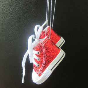 Sequins Mini Shoe Advertising Gift for Christmas pictures & photos