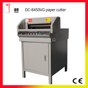 Docon Guillotine 450mm Paper Cutting Machine pictures & photos