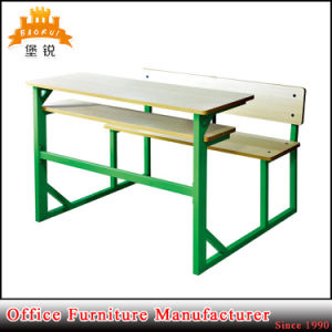 Double School Table and Chairs Set pictures & photos