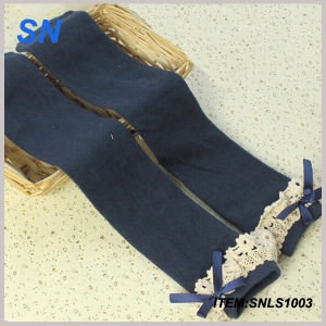 2015 Custom Wholesale Cheap Boot Socks with Lace pictures & photos