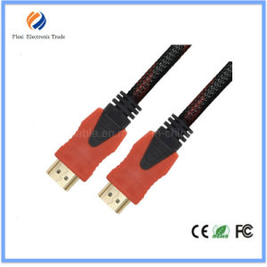 5FT 30AWG Gold Plated HDMI2.0 Cable Support 4k 3D with Ethernet pictures & photos