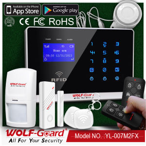 Wireless Home Security Burglar GSM Alarm with RFID pictures & photos