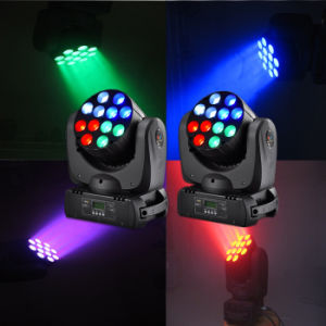 12 X10W RGBW Zoom LED Beam Moving Head pictures & photos