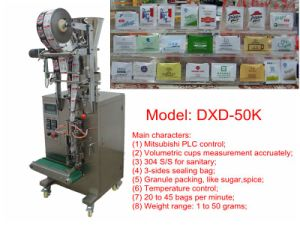 3 Sides Sealing Packing Machine (PLC control; 40bags/min) pictures & photos