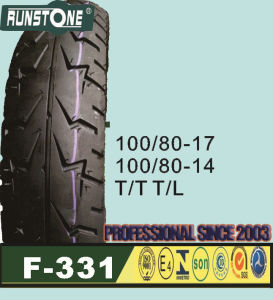 Motorcycle Tyre100/80-17 100/80-14 pictures & photos