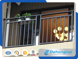 Light Galvanized Steel Balcony Railing / Safety Wrought Iron Balcony Balustrade pictures & photos