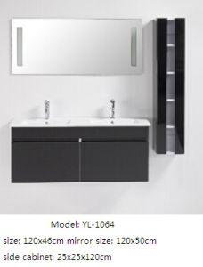 European Style Bathroom Furniture with Ceramic Basin Decorative Mirror pictures & photos