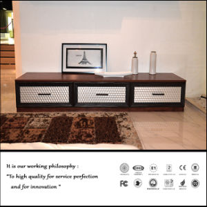 High Glossy UV Faced TV Cabinet (FY0254) pictures & photos