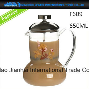 Clear Glass Teapot Coffee Maker Pitcher in Factory Price pictures & photos