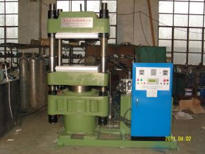 Hydraulic Plate Rubber Vulcanizer Machine pictures & photos