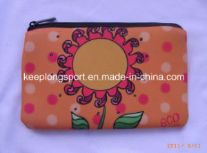 Sublimation Full Color Neoprene Pencil Bag for Students pictures & photos