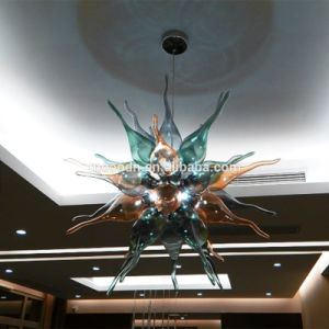 Handmade Blown Muticolor Art Stained Glass Chilli Chandelier Pendant Light pictures & photos