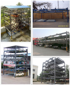 Three Platform Lifting and Transferring Parking System pictures & photos
