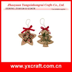 Christmas Decoration (ZY16Y136-11-12 24CM) Christmas Decorate Star Wholesale Christmas Ball pictures & photos