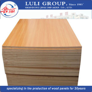 Medium Density Fibre Panel / MDF with High Quality for Construction pictures & photos