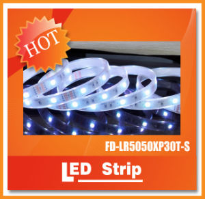 IP67 Waterproof Commercial White LED Strip Light SMD5050 150LEDs LED Rope Light
